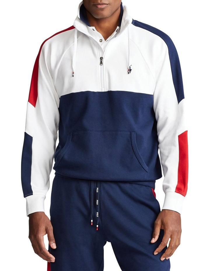 Interlock Quarter-Zip Pullover image 1
