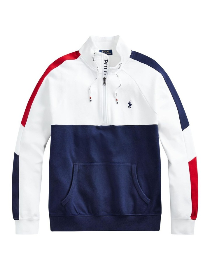 Interlock Quarter-Zip Pullover image 4