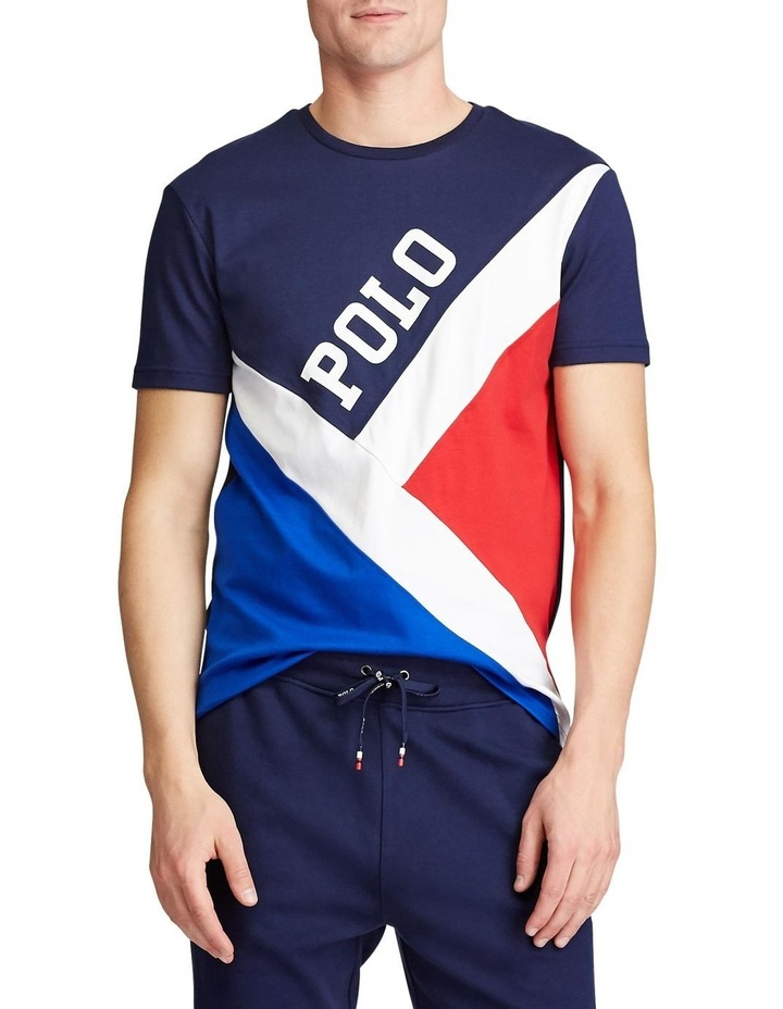 Classic Fit Pieced T-Shirt image 1
