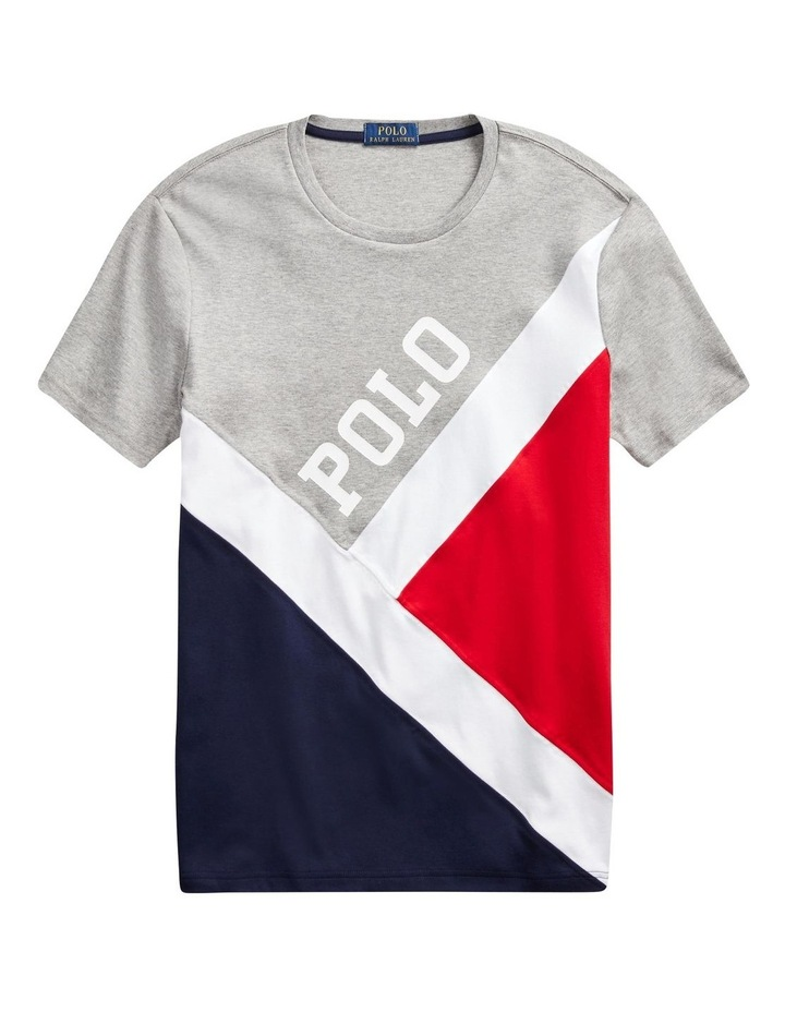 Classic Fit Pieced T-Shirt image 5