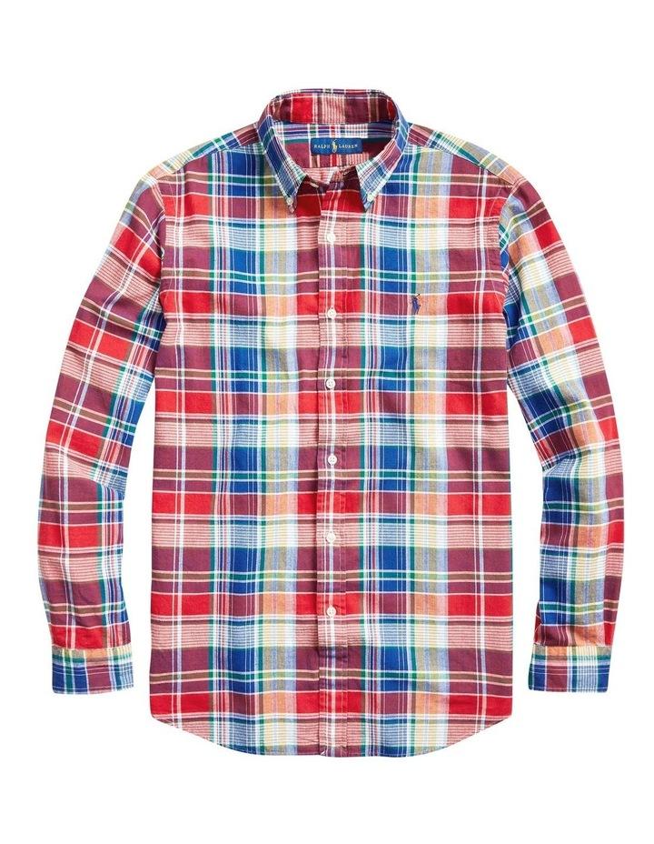 Classic Fit Madras Shirt image 4