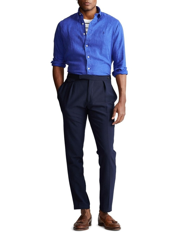 Classic Fit Linen Shirt image 5