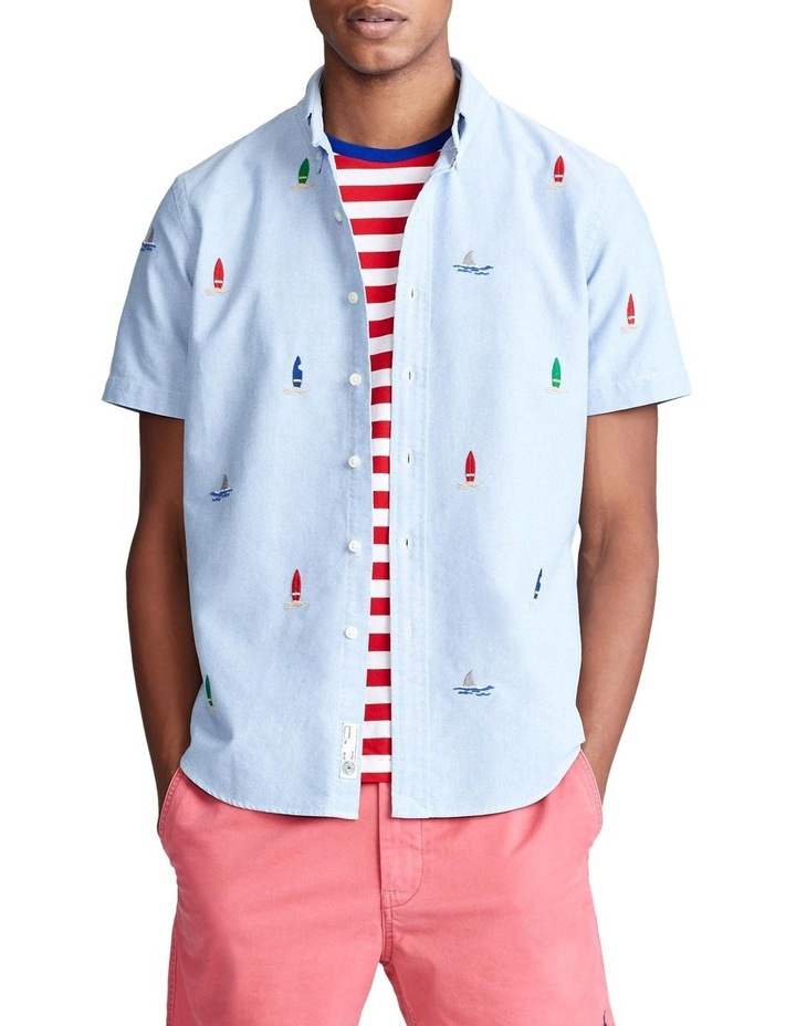 Classic Fit Surfboard Shirt image 1