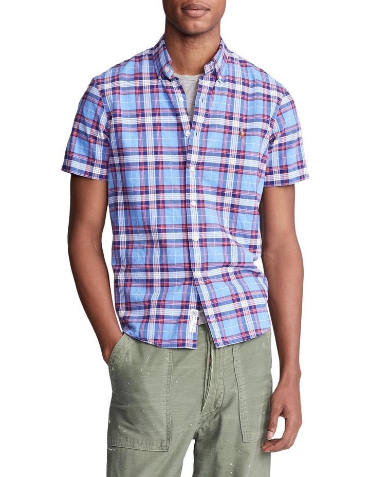 Classic Fit Plaid Oxford Shirt image 1