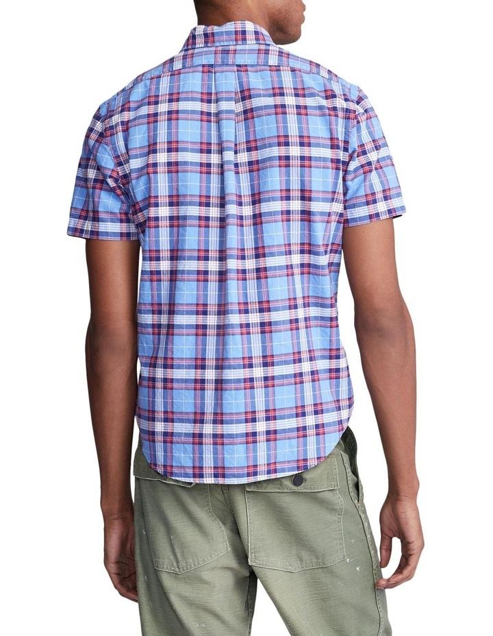 Classic Fit Plaid Oxford Shirt image 2