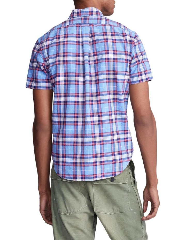 Classic Fit Plaid Oxford Shirt image 2