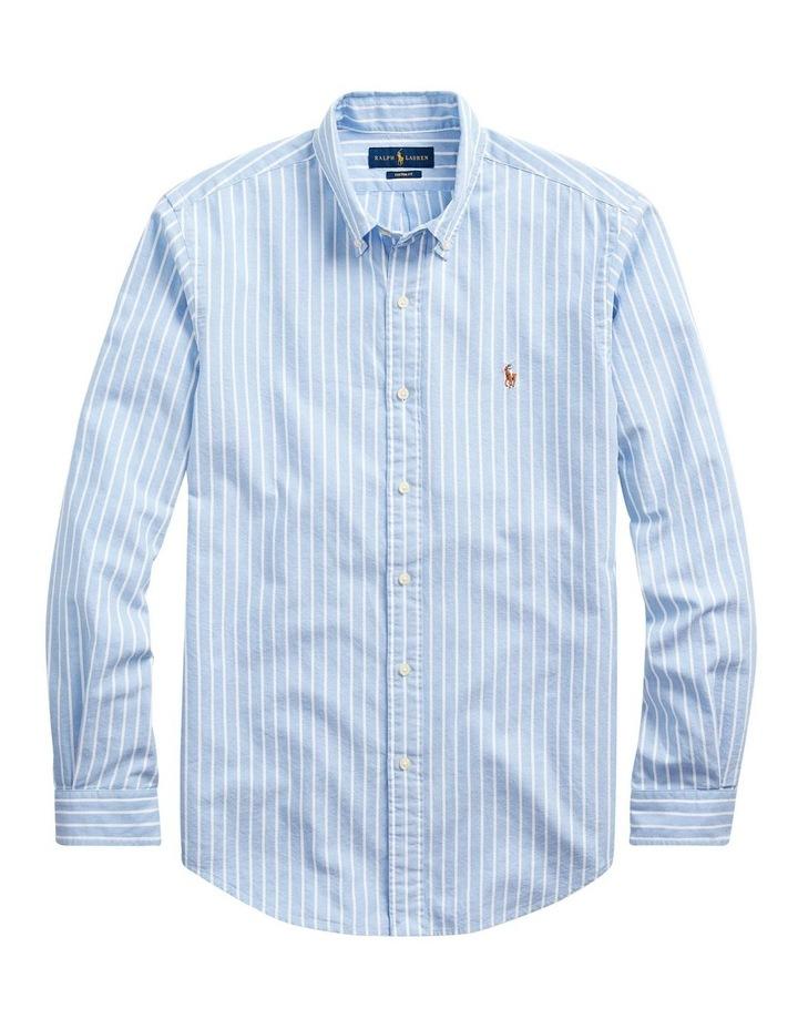 Custom Fit Striped Shirt image 1
