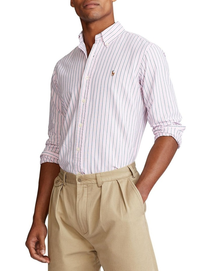 Custom Fit Striped Shirt image 1