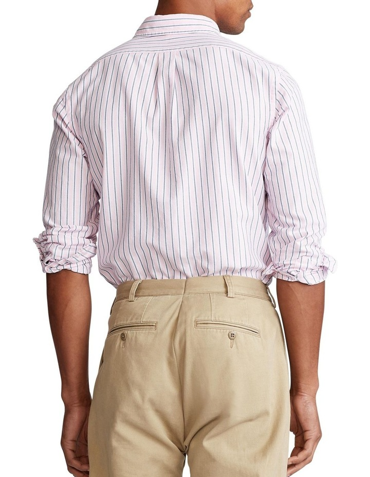 Custom Fit Striped Shirt image 2