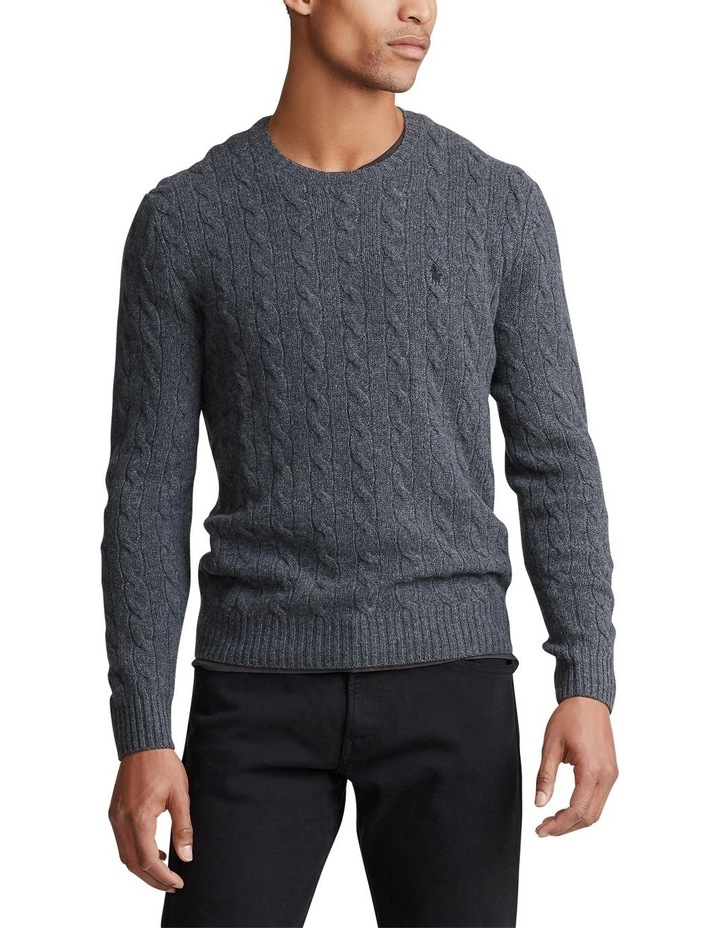 Cable-Knit Wool-Cashmere Sweater image 1