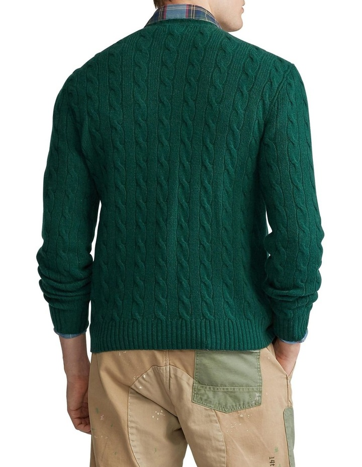Cable-Knit Wool-Cashmere Sweater image 2