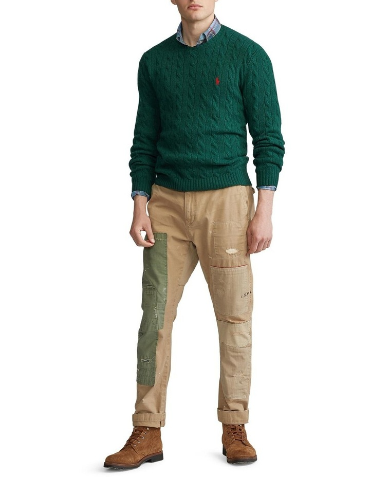 Cable-Knit Wool-Cashmere Sweater image 3