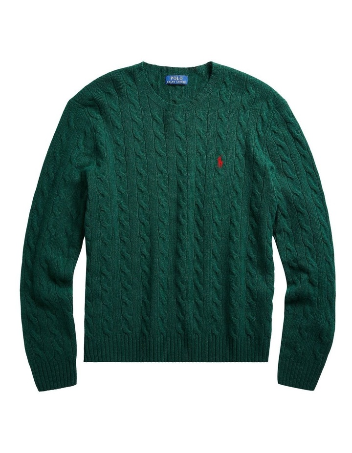 Cable-Knit Wool-Cashmere Sweater image 4