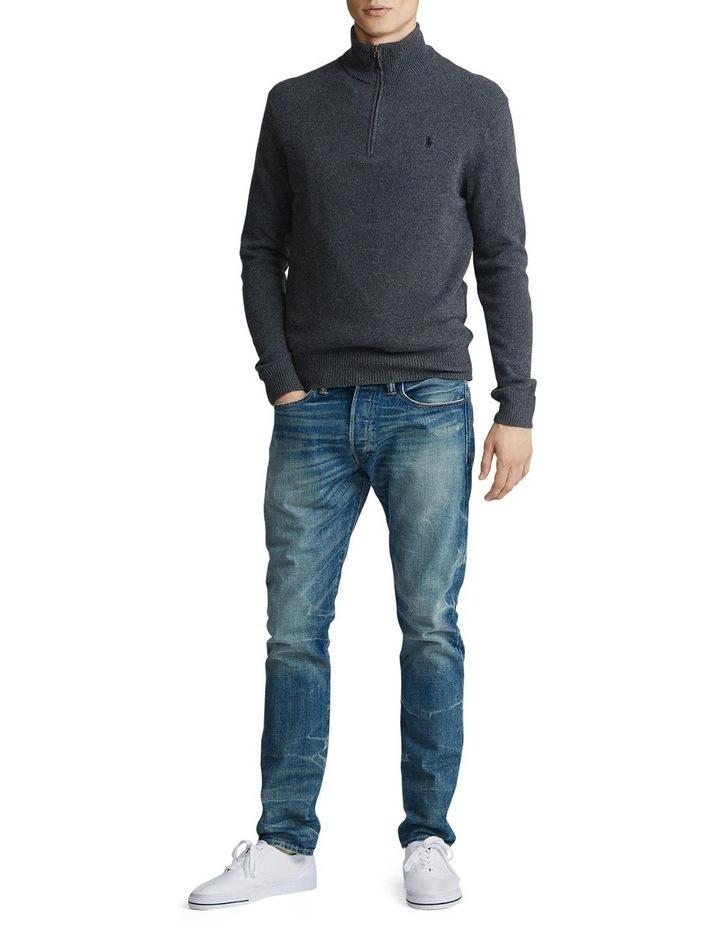 Wool-Blend Quarter-Zip Sweater image 3