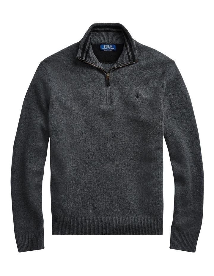 Wool-Blend Quarter-Zip Sweater image 4