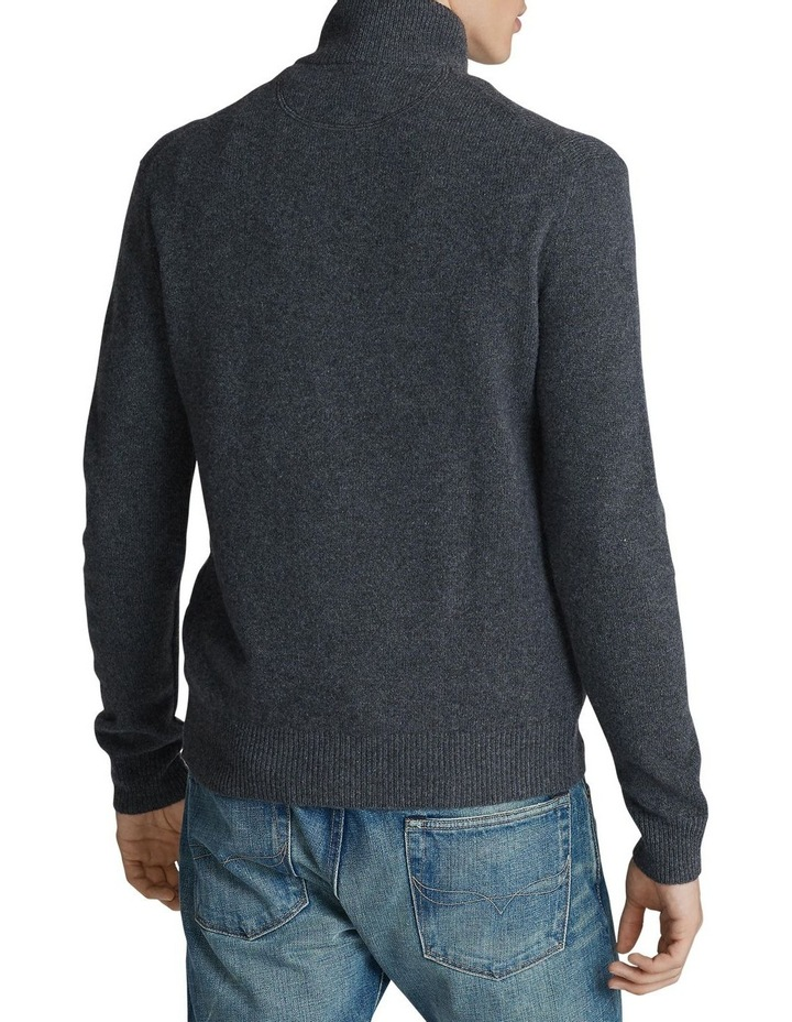 Wool-Blend Quarter-Zip Sweater image 2
