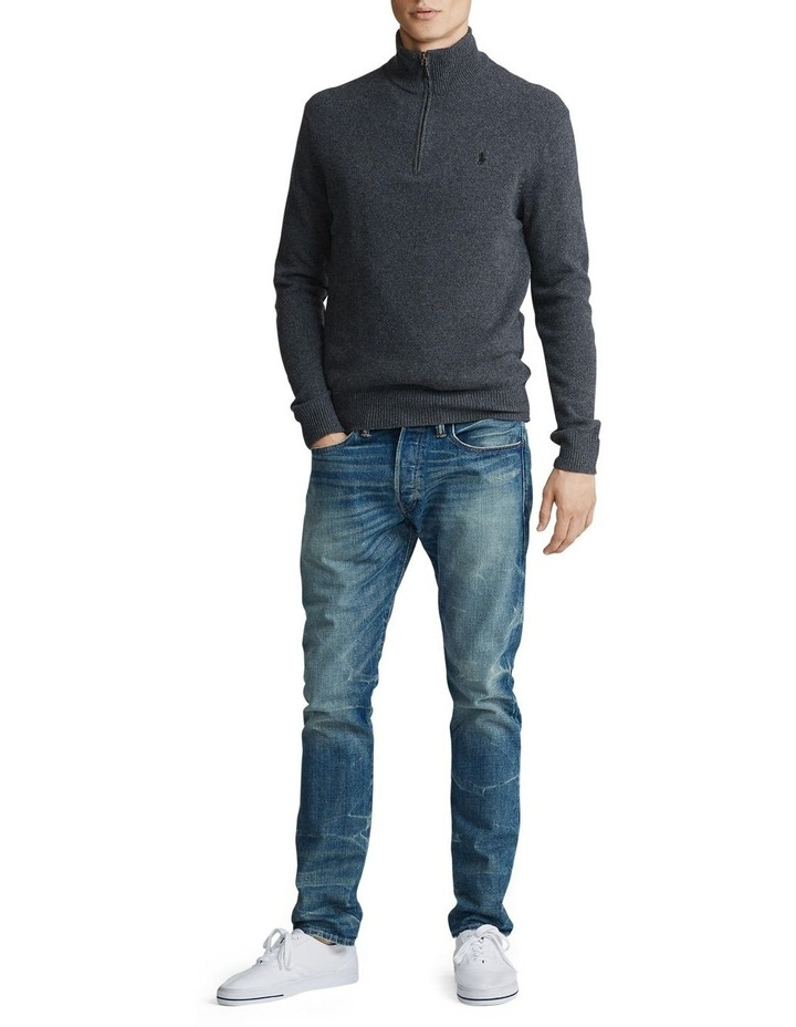 Wool-Blend Quarter-Zip Sweater image 3