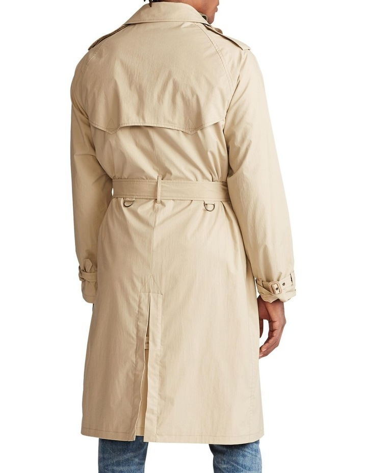 Stretch Cotton Trench Coat image 2