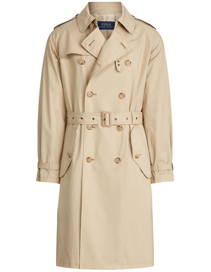 Stretch Cotton Trench Coat image 3