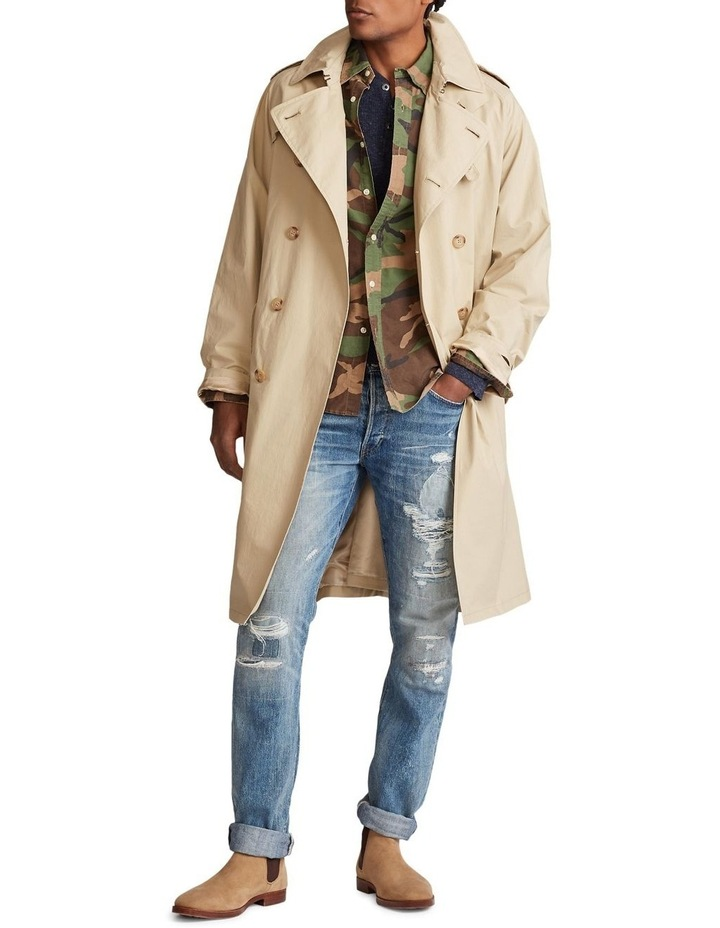 Stretch Cotton Trench Coat image 4