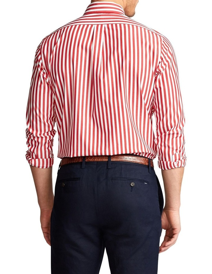 Slim Fit Striped Poplin Shirt image 2