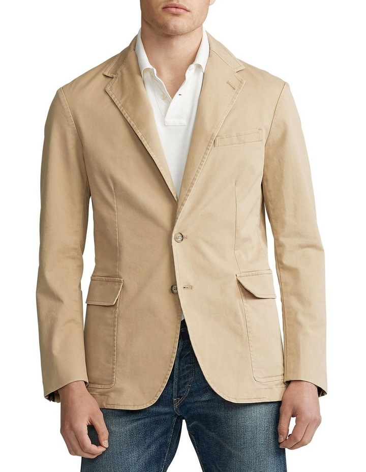 Polo Unconstructed Chino Suit Jacket image 1