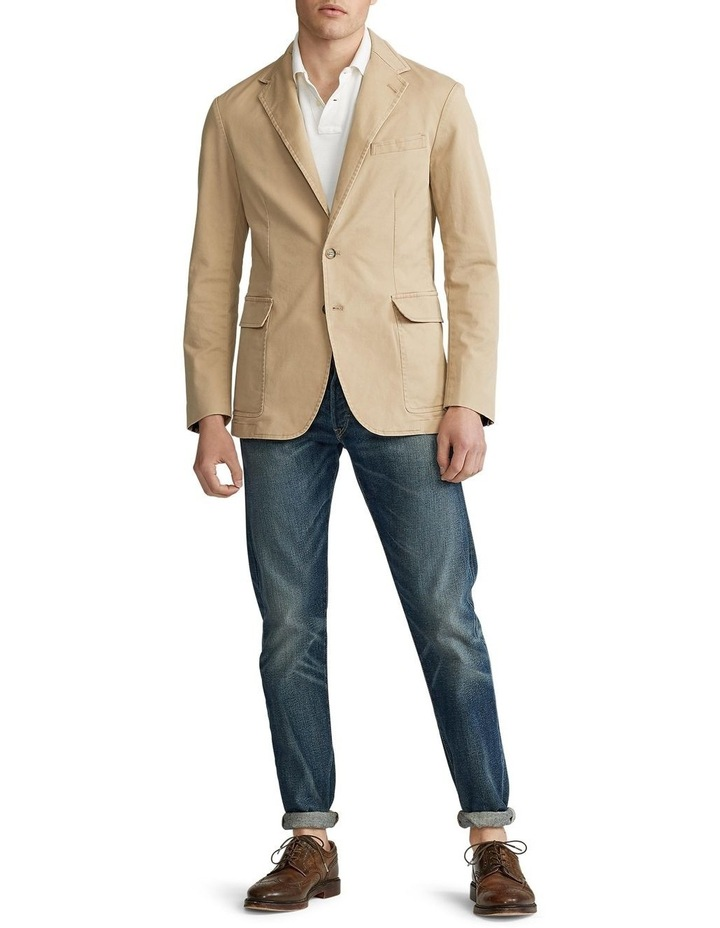 Polo Unconstructed Chino Suit Jacket image 3