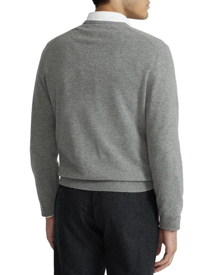Merino Wool V-Neck Sweater image 2