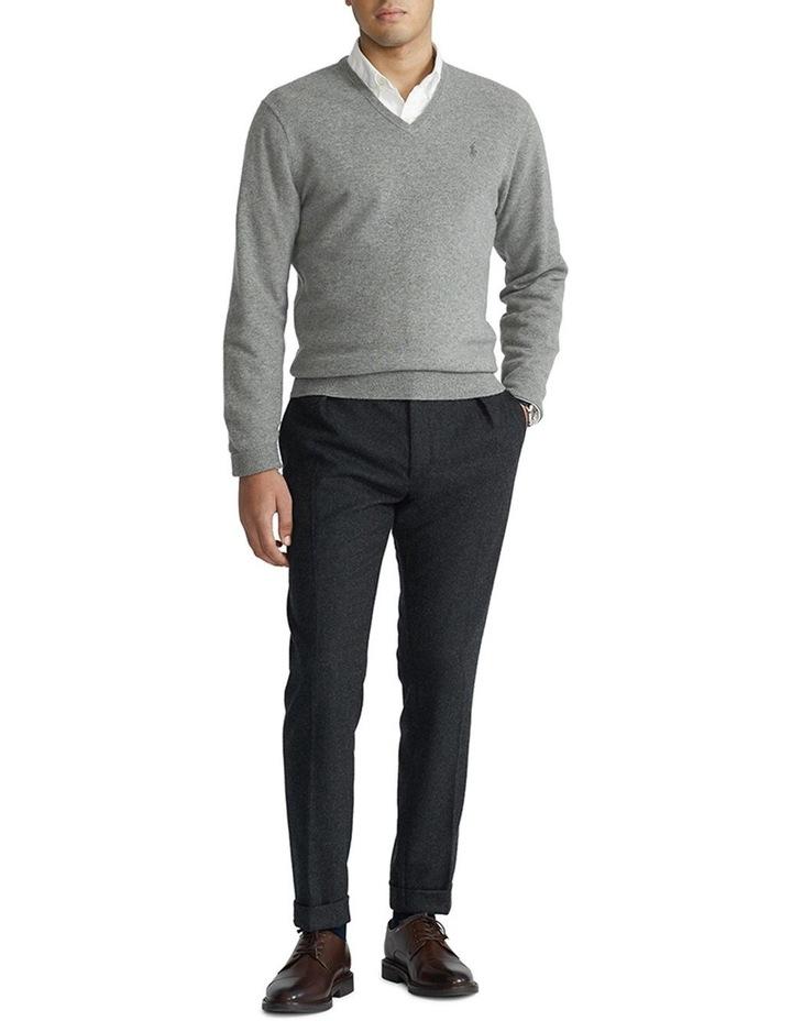 Merino Wool V-Neck Sweater image 3