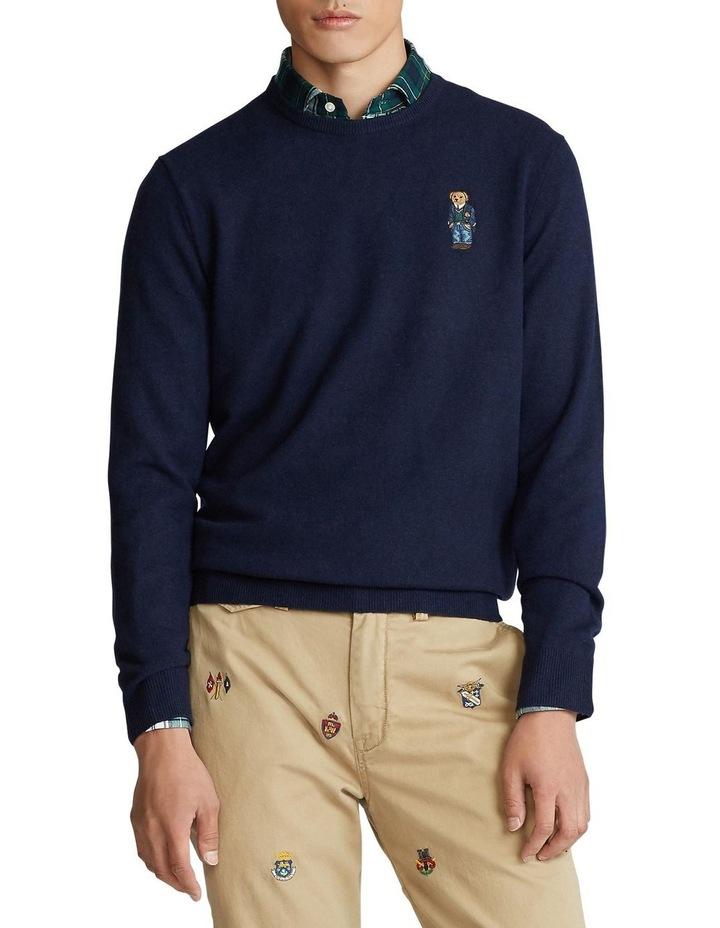 Polo Bear Merino Wool Sweater image 1