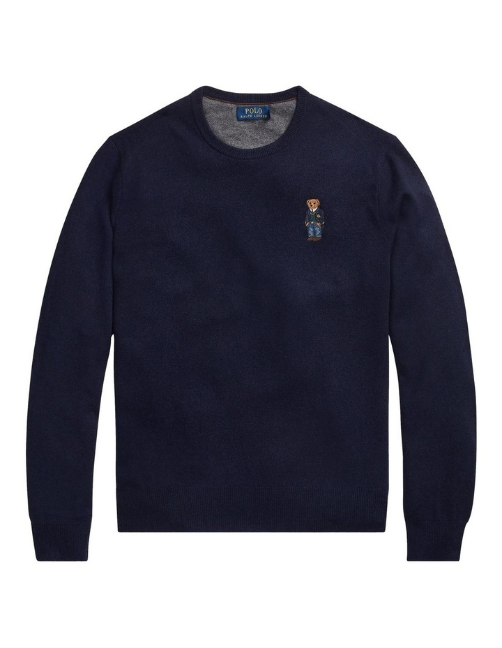 Polo Bear Merino Wool Sweater image 4