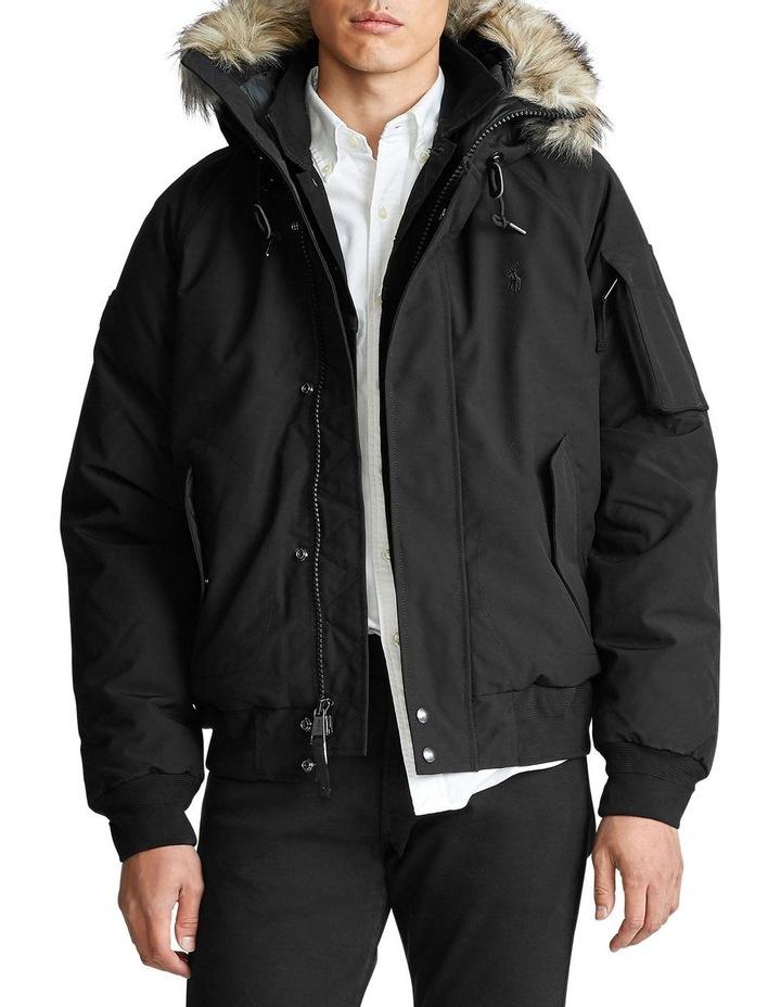 Faux-Fur-Trim Down Jacket image 1