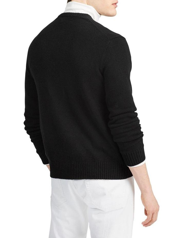 Wool-Cashmere V-Neck Sweater image 2