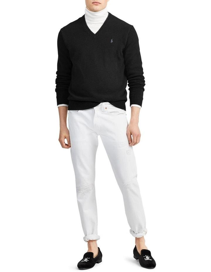 Wool-Cashmere V-Neck Sweater image 3