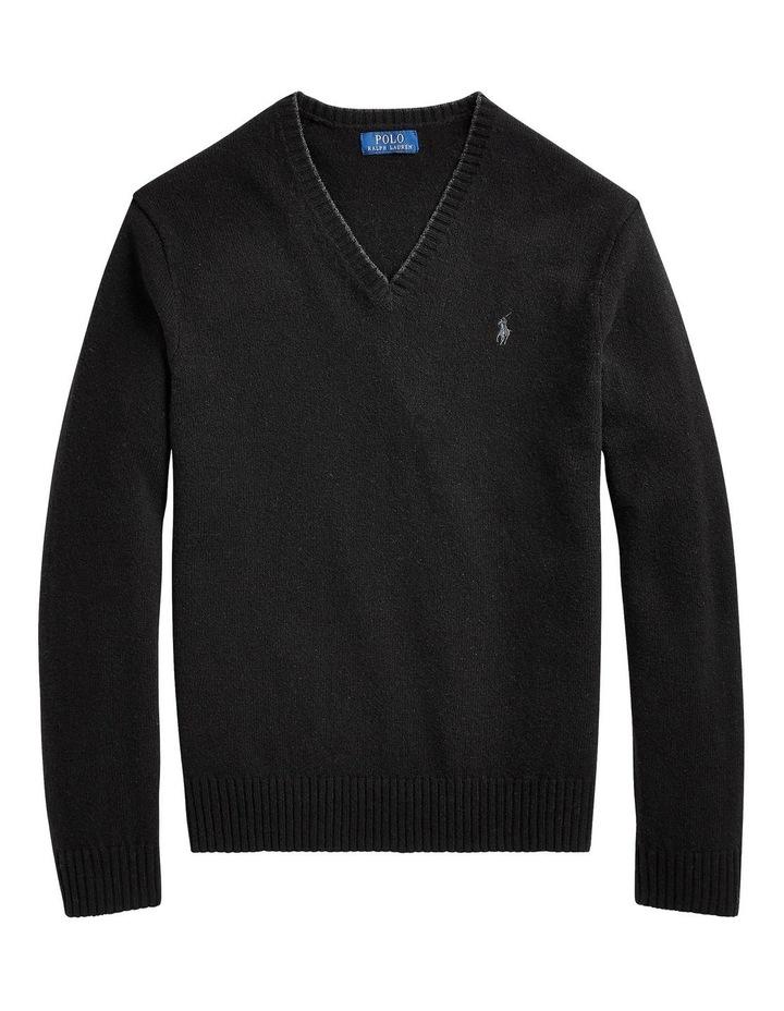 Wool-Cashmere V-Neck Sweater image 4