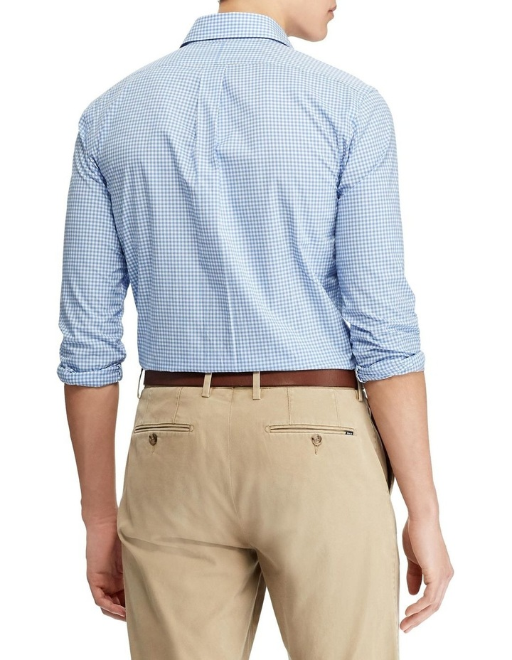 Slim Fit Checked Poplin Shirt image 2