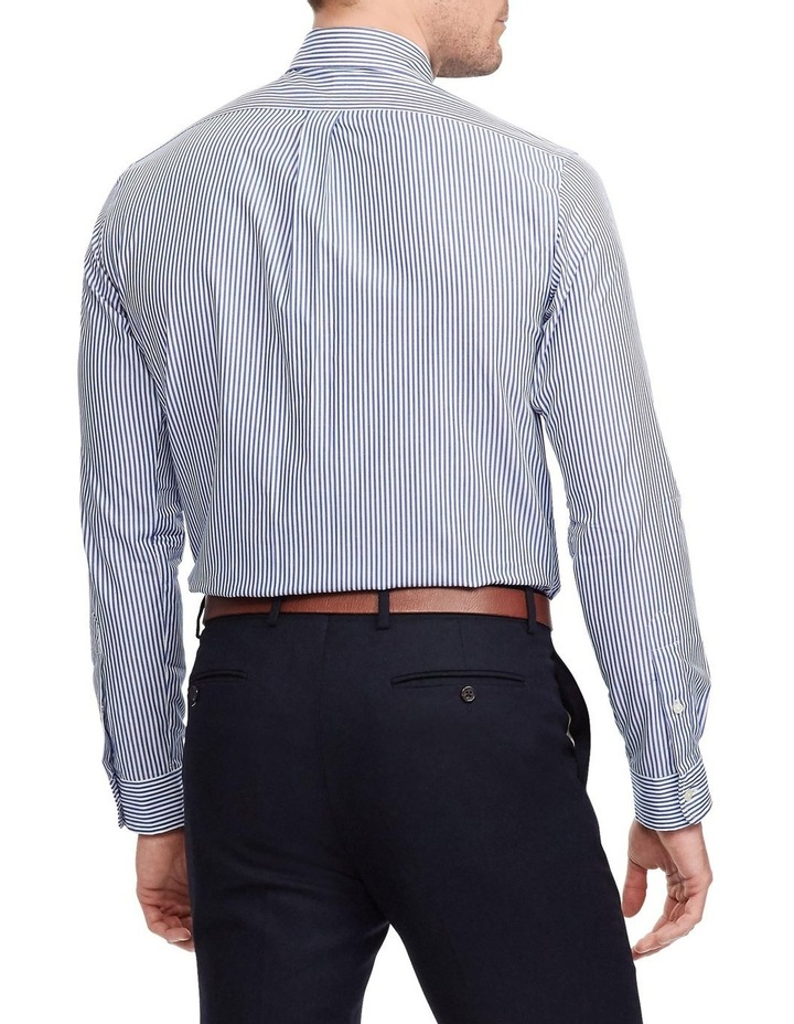 Slim Fit Striped Poplin Shirt image 2