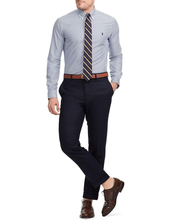 Slim Fit Striped Poplin Shirt image 3
