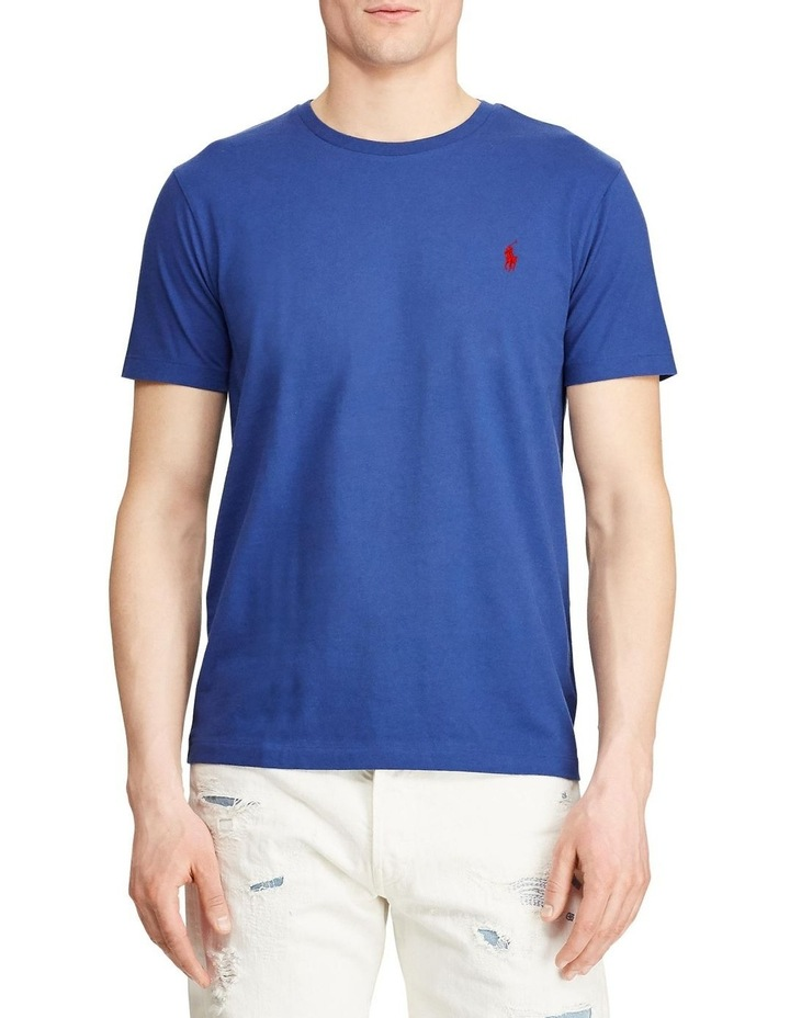 Custom Slim Fit Jersey Crewneck T-Shirt image 1