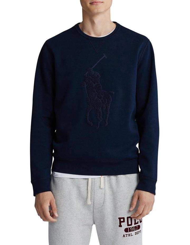 Big Pony Double-Knit Sweatshirt image 1