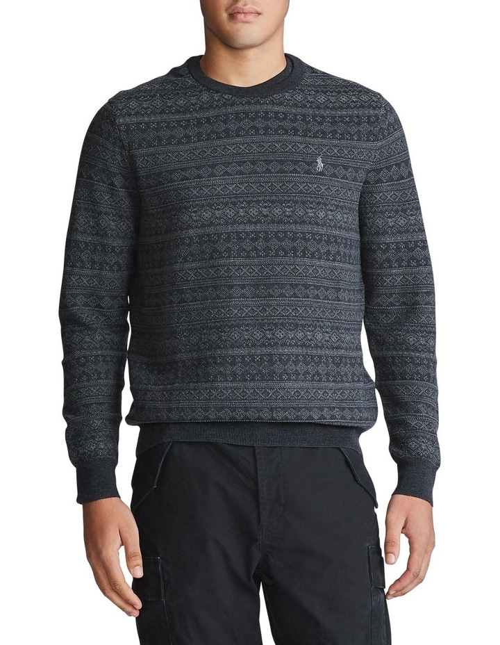 Fair Isle Merino Wool Sweater image 1