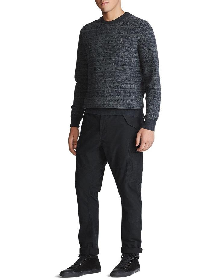 Fair Isle Merino Wool Sweater image 3