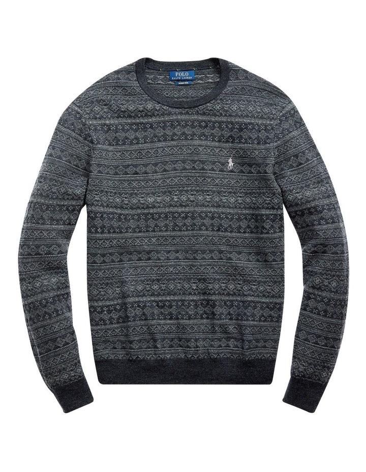 Fair Isle Merino Wool Sweater image 4