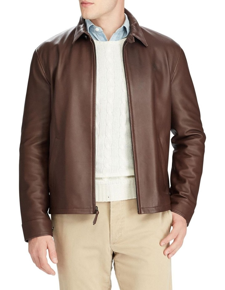 Lambskin Leather Jacket image 1