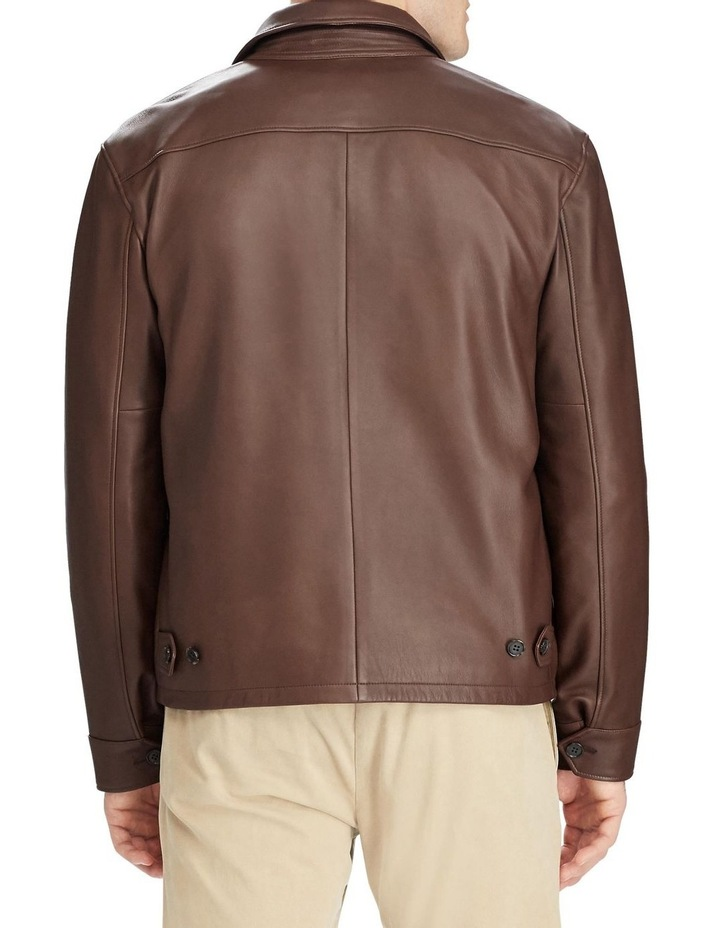 Lambskin Leather Jacket image 2
