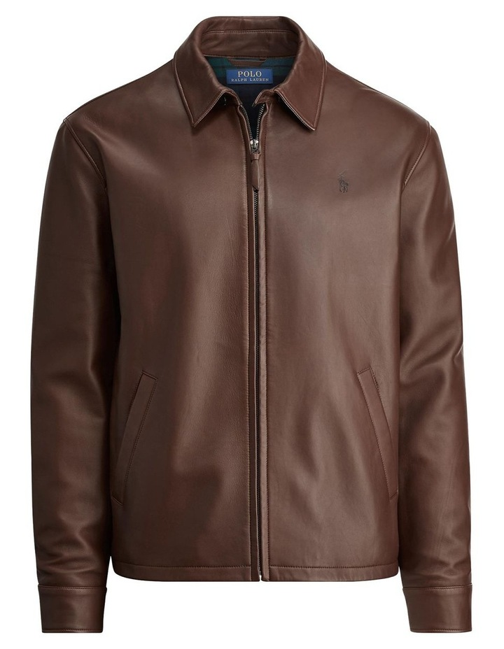 Lambskin Leather Jacket image 4