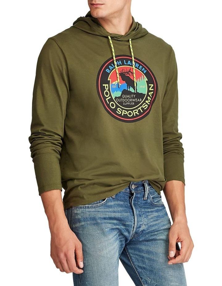 Sportsman Hooded T-Shirt image 1