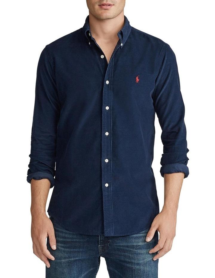 Custom Fit Corduroy Shirt image 1