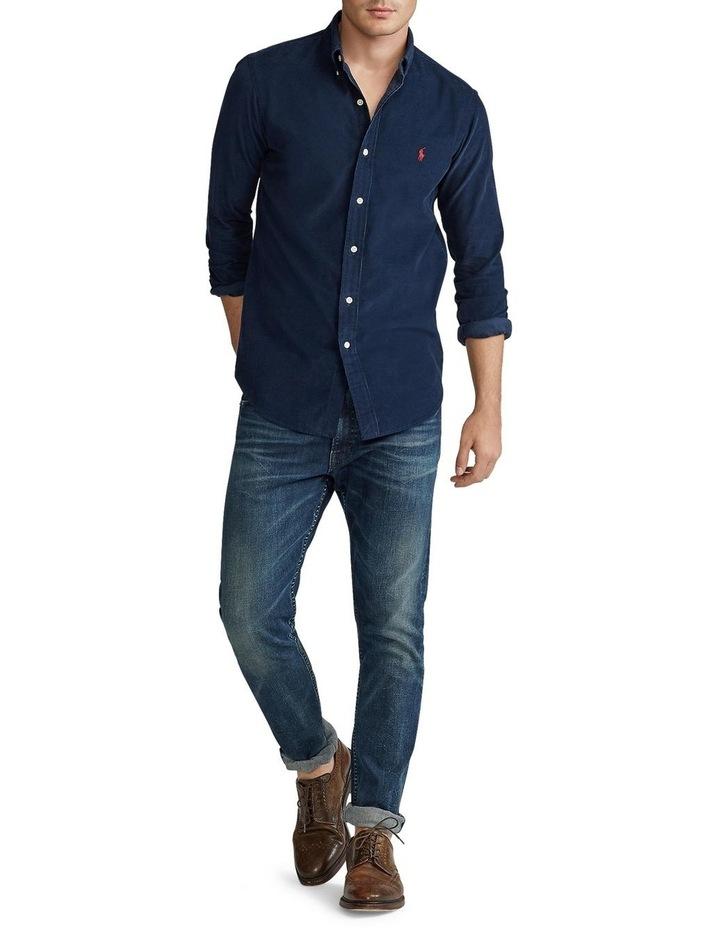 Custom Fit Corduroy Shirt image 3