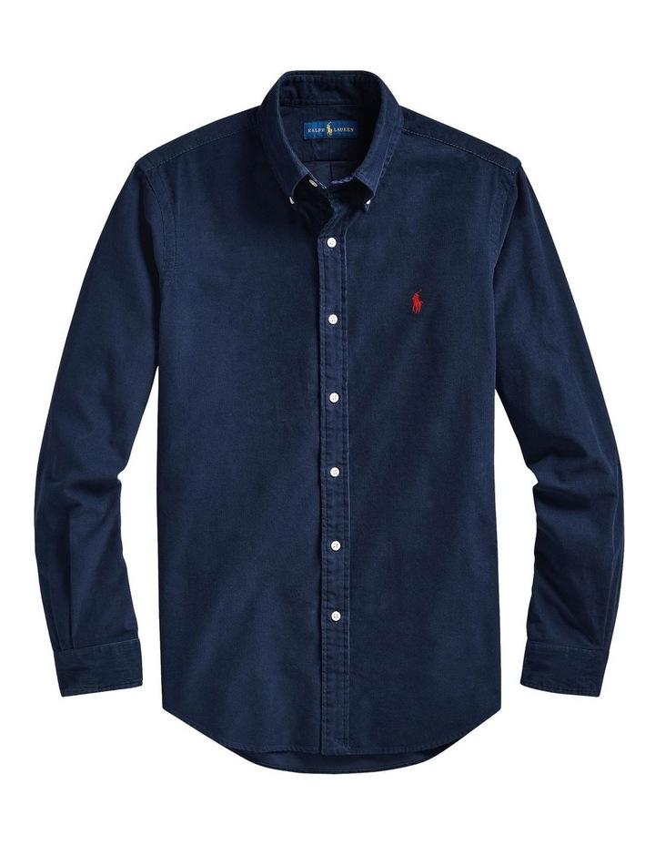 Custom Fit Corduroy Shirt image 4